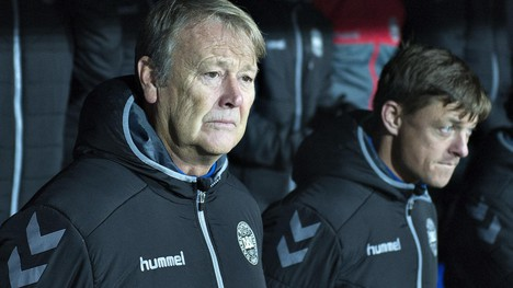 Ingen walkover for Åge Hareide