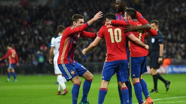 CSKA har kontroll i Moskva-derbyet