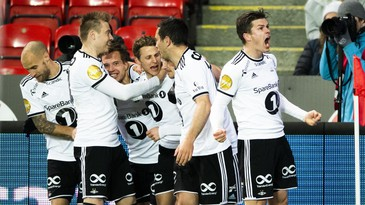 Rosenborg valser over Start