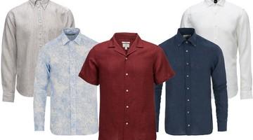 Linskjorter til de varme sommerdagene